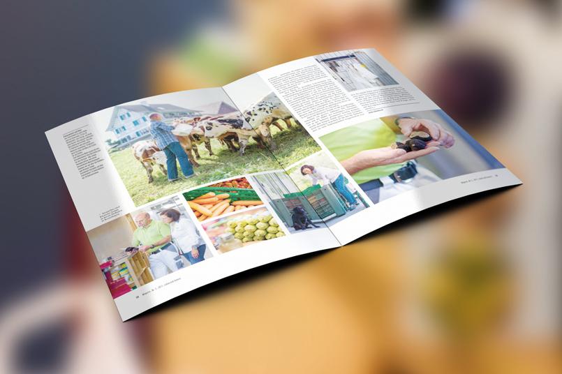 Der Schrofenhof im Magazin «Leben und Genuss»